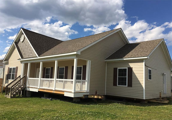 Modulars for sale down east homes of beulaville nc for Modular home cottage